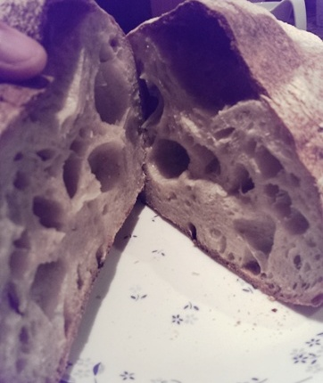 Sourdough boule – with homemade starter