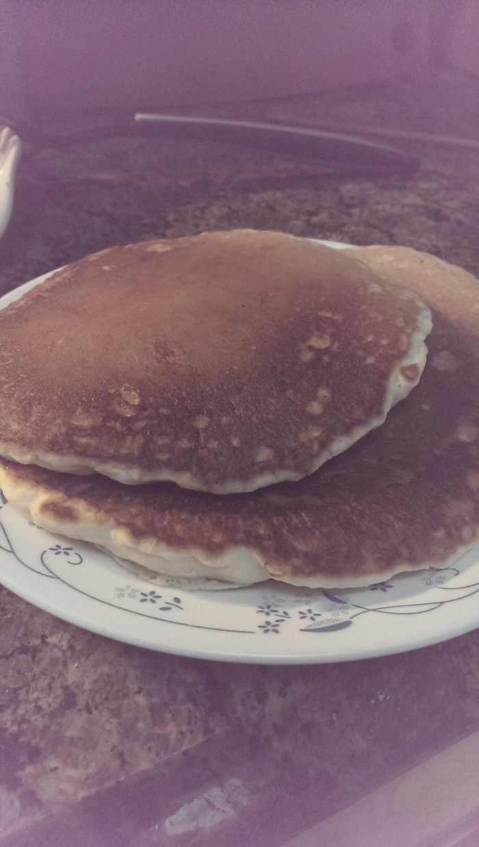 Homemade pancakes – Sourdough discard