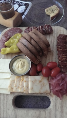 Olympia Provisions charcuterie and Rogue cheeses