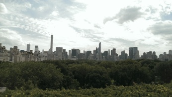 NYC Skyline and Central Park