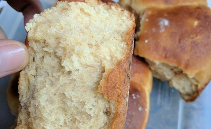 Whole wheat honey dinnerrolls