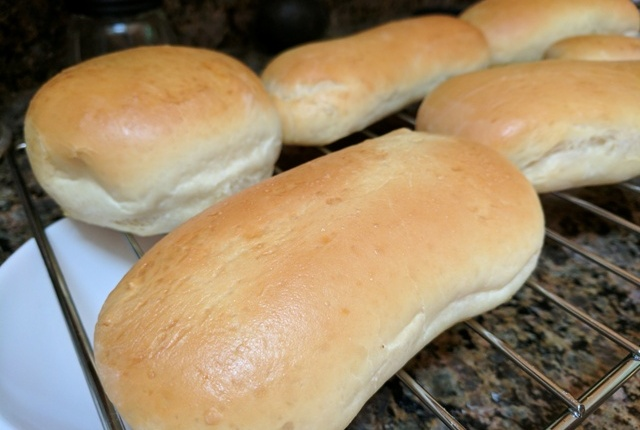 Hot dog (hamburger) buns