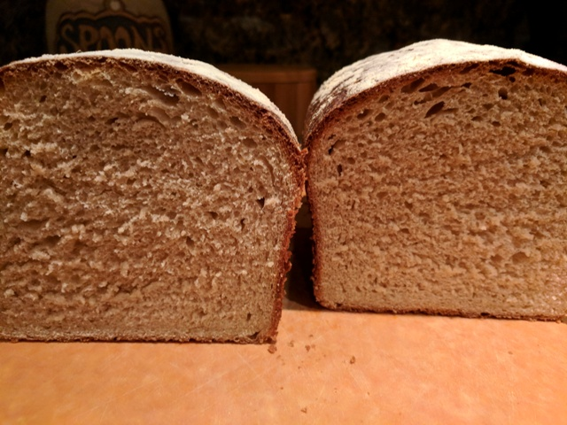 Paris Baguette and Back to bread (whole wheat sandwich bread)