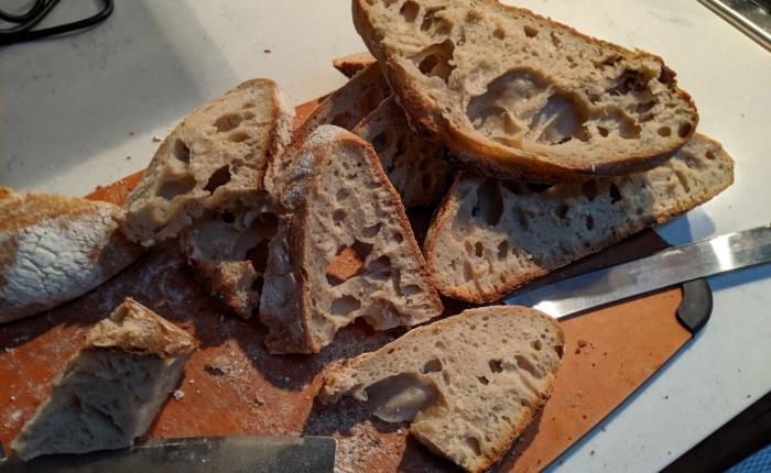 Sourdough (with wheat) bread#2